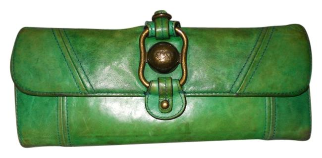 Item - Green Leather Wallet