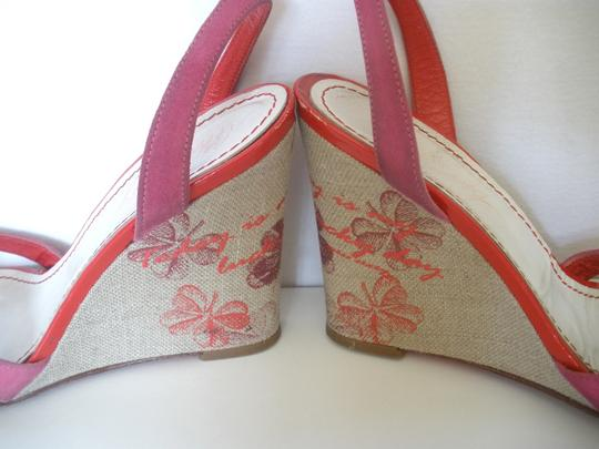 Miss Sixty Sandles Strappy Pink Wedges