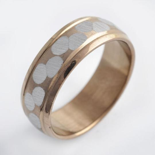 Gold/Silver Bogo Free Stainless Steel Unisex Free Shipping Men's Wedding Band
