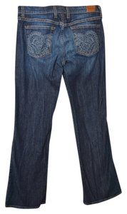 Lucky Brand Jeans Denim Boot Cut Pants Blue Denim