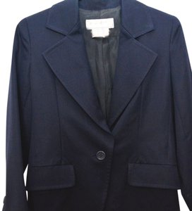Saint Laurent Beautiful Dark Blue 100% Wool Yves Saint Laurent Womens Suit 4.