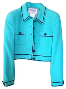 Chanel Mint Green Jacket