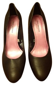 Isaac Mizrahi for Target Leather Rounded Toe Stiletto Brown Pumps
