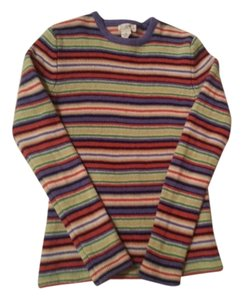 J.Crew Striped J. Crew Crew Sweater