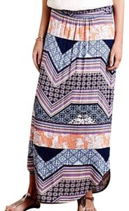 Anthropologie Maxi Maxi Maxi Skirt Multi-colored