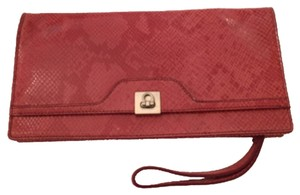 Banana Republic Salmon pink Clutch