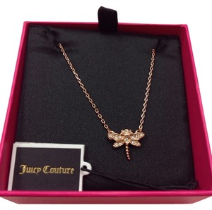 Juicy Couture JUICY COUTURE PAVE DRAGONFLY NECKLACE YJRU6583 NWT