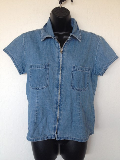 Other Vintage Jean Tunic