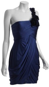 BCBGMAXAZRIA Addison Draped One Dress