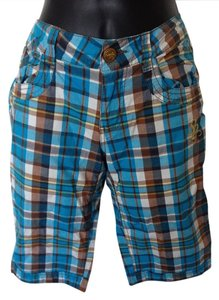 South Pole Collection Summer Bermuda Bermuda Shorts Blue