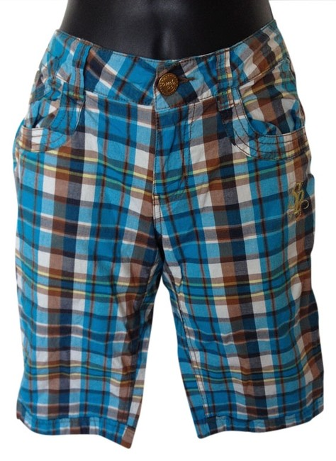 South Pole Collection Summer Bermuda Shorts Blue