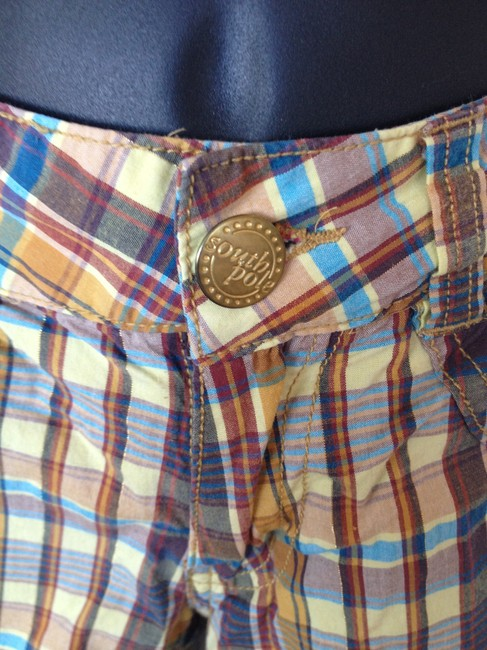 South Pole Collection Summer Bermuda Shorts Gold