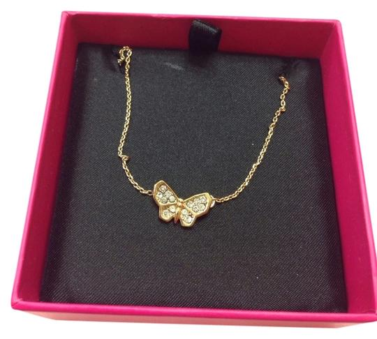 Juicy Couture JUICY COUTURE PAVE BUTTERFLY NECKLACE YJRU6582