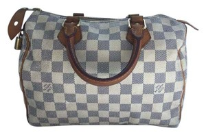 Louis Vuitton Satchel in Damier Azur