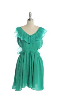 Ark & Co. short dress Green on Tradesy