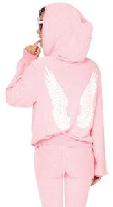 Wildfox Angel Wings Over-sized Jacket Sweatshirt