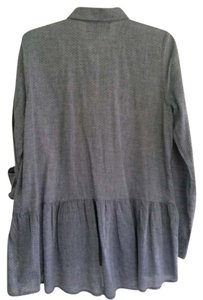 Anthropologie Top Chambray