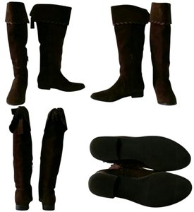 A.N.A. a new approach Brown Suede Boots