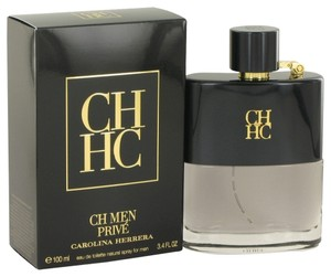 Carolina Herrera CH Men Prive Mens Cologne 3.4 oz 100 ml Eau De Toilette Spray