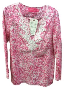 Lilly Pulitzer Beaded Long Sleeve Tunic