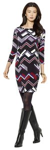Lauren Ralph Lauren New With Tags Chevron Print Dress