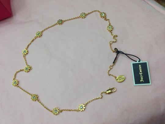 Juicy Couture JUICY COUTURE DAISY MINI NECKLACE YJRU7766 NWT