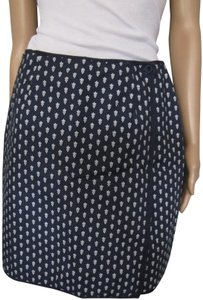 Charter Club Preppy Classic Skirt Navy with White design