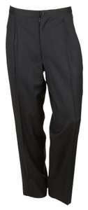 Trussini Men Straight Pants Black