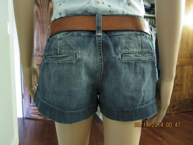 American Eagle Outfitters Basic Shorts Dark Denim