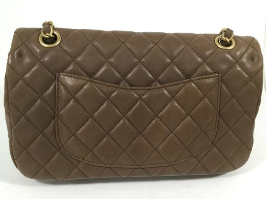 Chanel Cruise With Lambskin Quilted Shoulder Bag