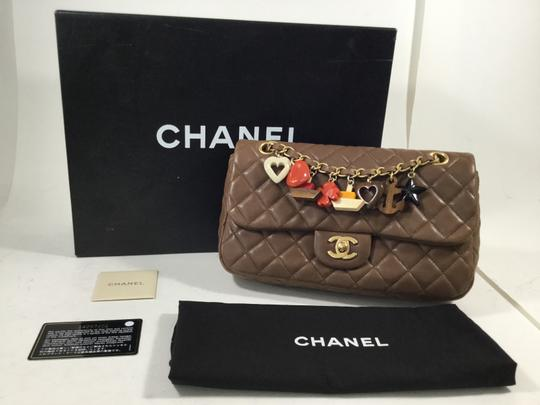 Chanel Cruise With Charms Lambskin Quilted Shoulder Bag