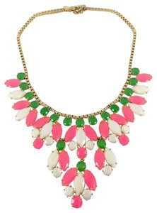 Kate Spade Fun, Flirty, Bright! Kate Spade Marquee Necklace! Modern Update of Floral! Amazing Price!