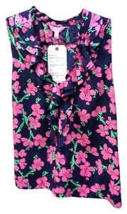 Lilly Pulitzer Top Floral
