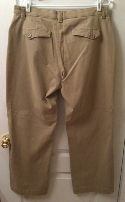 Lee Straight Pants Khaki