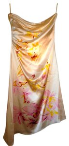 Banana Republic Silk Print Floral Summer Dress