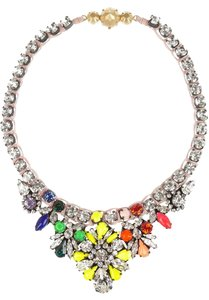Shourouk Mini Theresa Swarovski crystal necklace