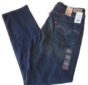 Levi's Blue 14m Mid Rise Stretch Skinny Jeans