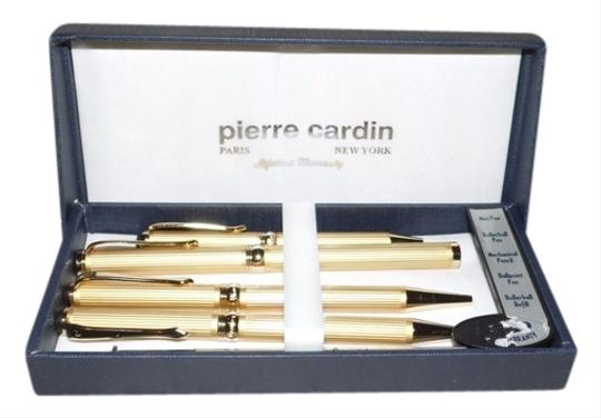 PIERRE CARDIN Parure SWING Red Pens set Fountain pen and Ball point pen Original New In gift box