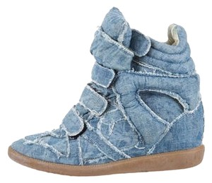 Isabel Marant Denim Wedges
