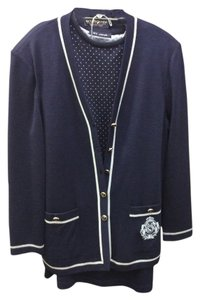 St. John St. John's Navy knit 3 piece suit