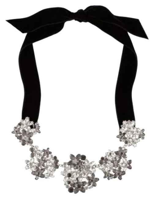 Kate Spade Rhodium Silver & Crystals Darling Of The Fashion Blogs Magazines Meadow Sweet Amazing Modern Take On Floral Chic Necklace Kate Spade Rhodium Silver & Crystals Darling Of The Fashion Blogs Magazines Meadow Sweet Amazing Modern Take On Floral Chic Necklace Image 1