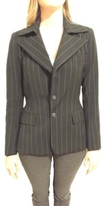 Alvin Valley Black pinstripe Blazer