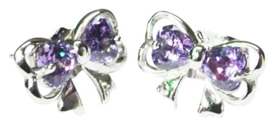 Preload https://item3.tradesy.com/images/purple-cute-bow-knot-earrings-931492-0-2.jpg?width=440&height=440
