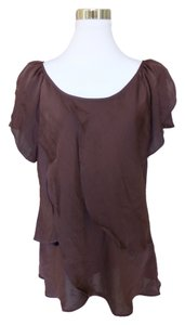 Violet & Claire Top Brown