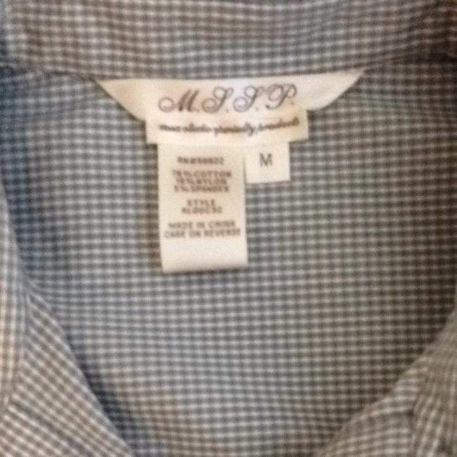 M.S.S.P. Button Down Shirt Gray