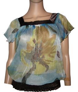 Daytrip Sheer Color Pallette Top Mixed