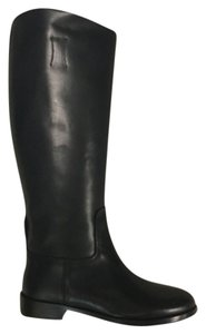 Rag & Bone Leather Riding Black Boots