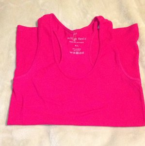 Active Basic Top Hot Pink