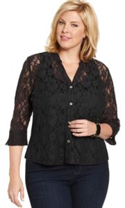 Elementz Lace Top BLACK