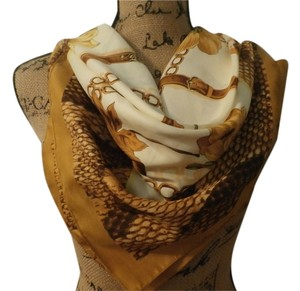GUARISCO NEW GUARISCO 100% POLYESTER MULTICOLOR SCARF 34X34 INCHES